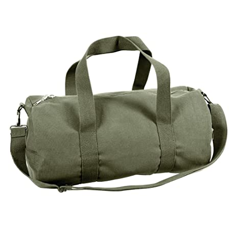 Sports Gym Shoulder Canvas Sport Shoulder Duffle Bag with Strap 19