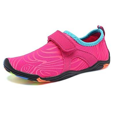 Amazon.com: FANTURE Zapatos de agua para niñas y niños ...