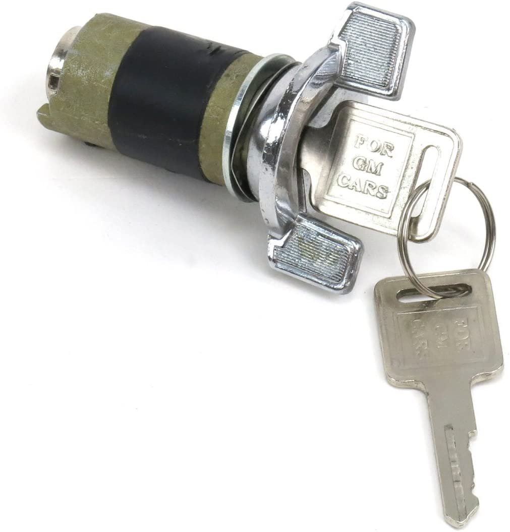 GM Style Vintage Parts 61657 Steering Column Switch with 2 Keys