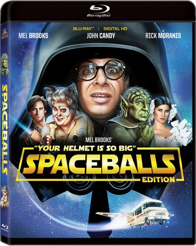 - Spaceballs Blu-ray