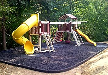 Amazon Com Colored Bulk Rubber Mulch For Playgrounds And Swing Sets