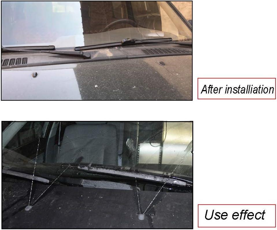 Windshield Wiper Nozzles XUKEY Windscreen Wiper Washer Nozzle Jet ...