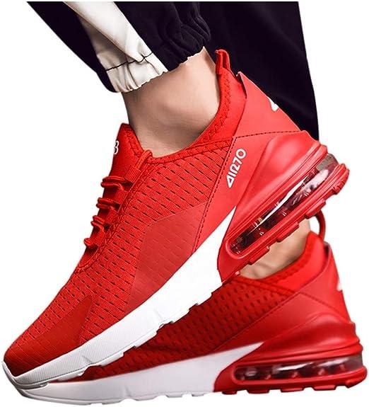 Yvelands-chaussures Zapatillas de Running de Peso Ligero para ...