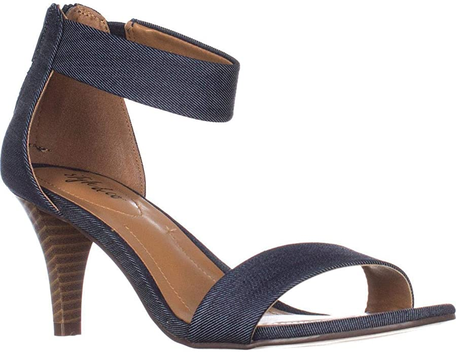 Womens Paysonn Leather Open Toe Special Occasion Strappy Sandals Style /& Co