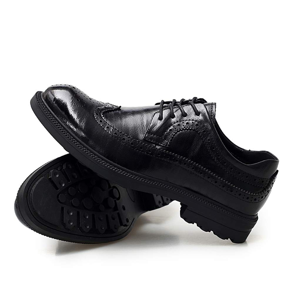 Gimitunus Scarpa Scarpa Scarpa in Pelle Fatta a Mano da Uomo Formale Scarpe da Brogue da Uomo di Moda Vintage di Oxford (Colore   Nero, Dimensione   42 EU) 261b29