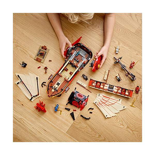 LEGO NINJAGO Legacy Destiny's Bounty 71705 Ninja Toy Building Kit Featuring Ninja Action Figures (1,781 Pieces)