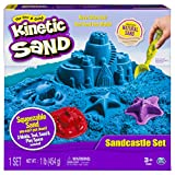 Kinetic Sand The One Only Sandcastle Set 1lb Sand, Molds Tools (Colors Vary)
