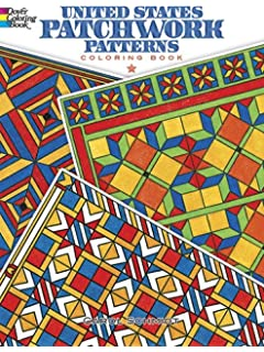 Creative Haven Patchwork Quilt Designs Coloring Book (Adult ...