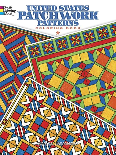 United States Patchwork Patterns Coloring product image