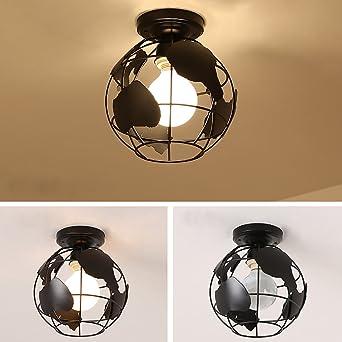 Mini luz de techo rectangular Diseño Lámpara de techo 1 luz ...