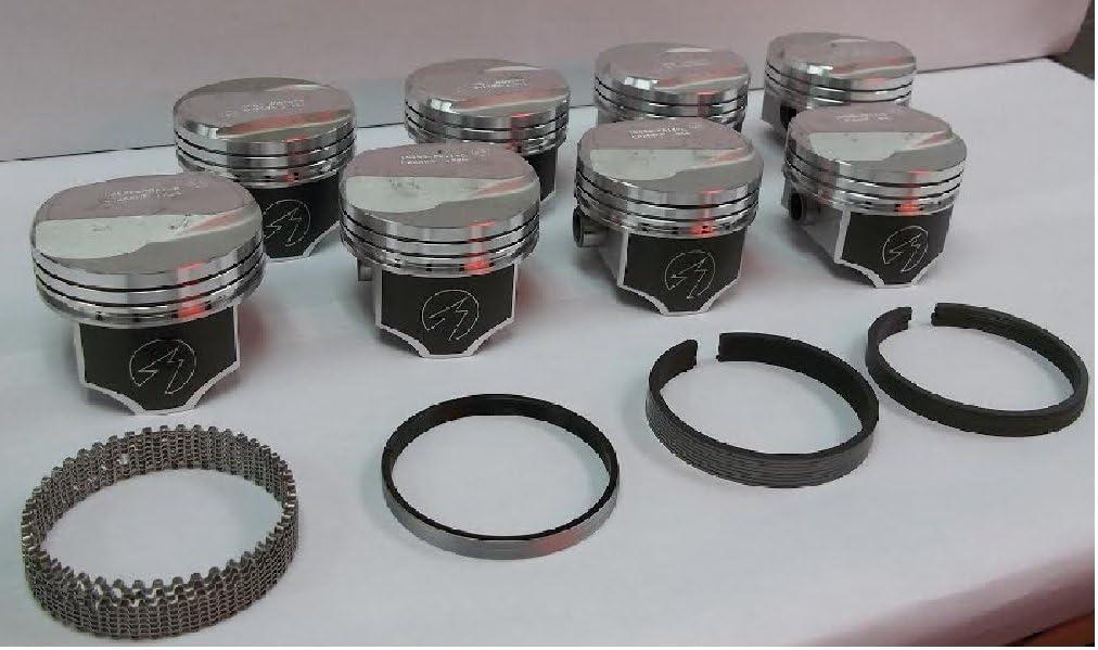 "30 oversize 350 /& 383 stroker 4.030 /"" 5//64 5//64 3//16 SBC 350 Moly ring Set"