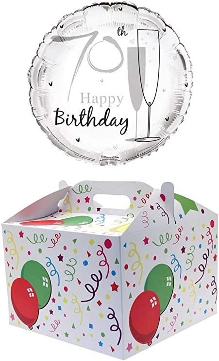 """Round 18/"""" 3rd Birthday Foil Helium Balloon Not Inflated Age 3 Unisex Stars"""