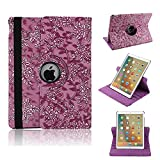 Hulorry iPad Pro 9.7'' Case Cover, Lightweight Case Rugged Protective Cover for Girls/Women Drop Protection Cover Colorful Flip Shiny Case for iPad Pro 9.7 inch