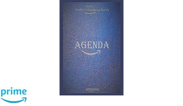 Amazon.com: Agenda: (versión en español) (Spanish Edition ...