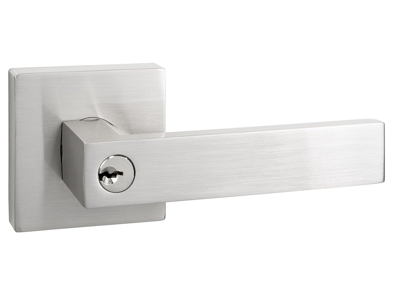 Nice Quad   Square Keyed Door Lever / Door Handle By Nova Hardware (Keyed) By  Nova Hardware     Amazon.com