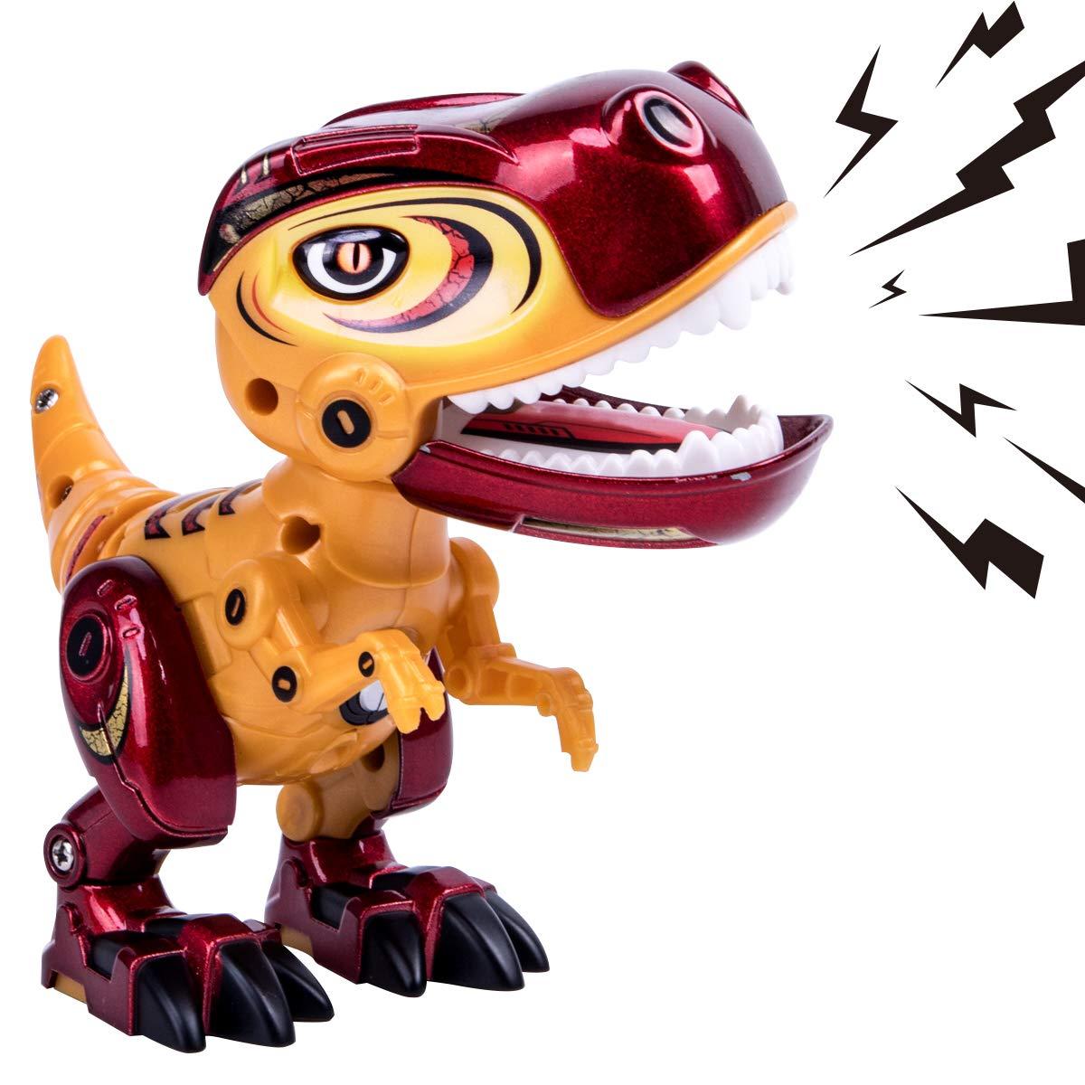 GILOBABY Elektrische Dinosaurier Spielzeug f/ür Kinder Dinosaurier Spielzeug f/ür Bildung und Lernen lebensechte mehrfarbige Dinosaurier mit Sound /& Lights Geschenke f/ür Jungen // M/ädchen