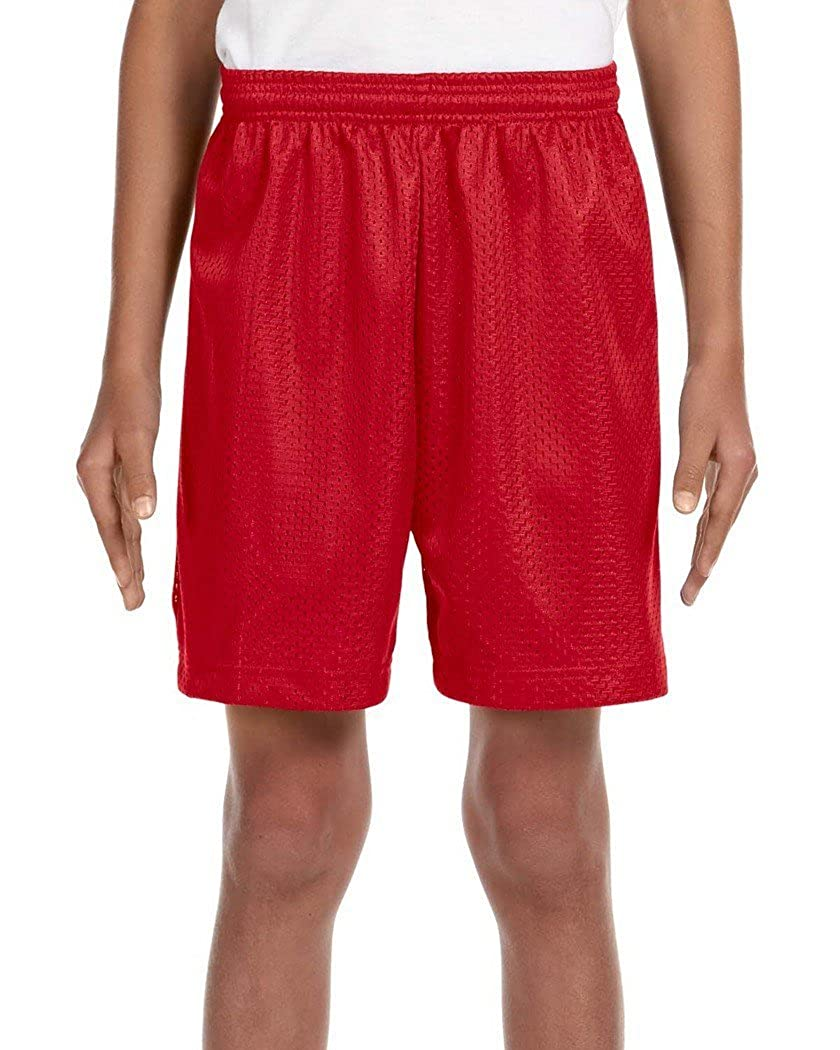 A4 Youth Mesh Performance Shorts