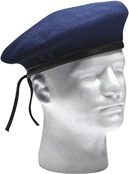 Amazon.com  Military Style Berets Navy Blue 7  Military Apparel ... 5af3790063