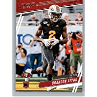 2020 Panini Prestige Football #211 Brandon Aiyuk RC Rookie Card San Francisco 49ers Official NFL Trading Card From…