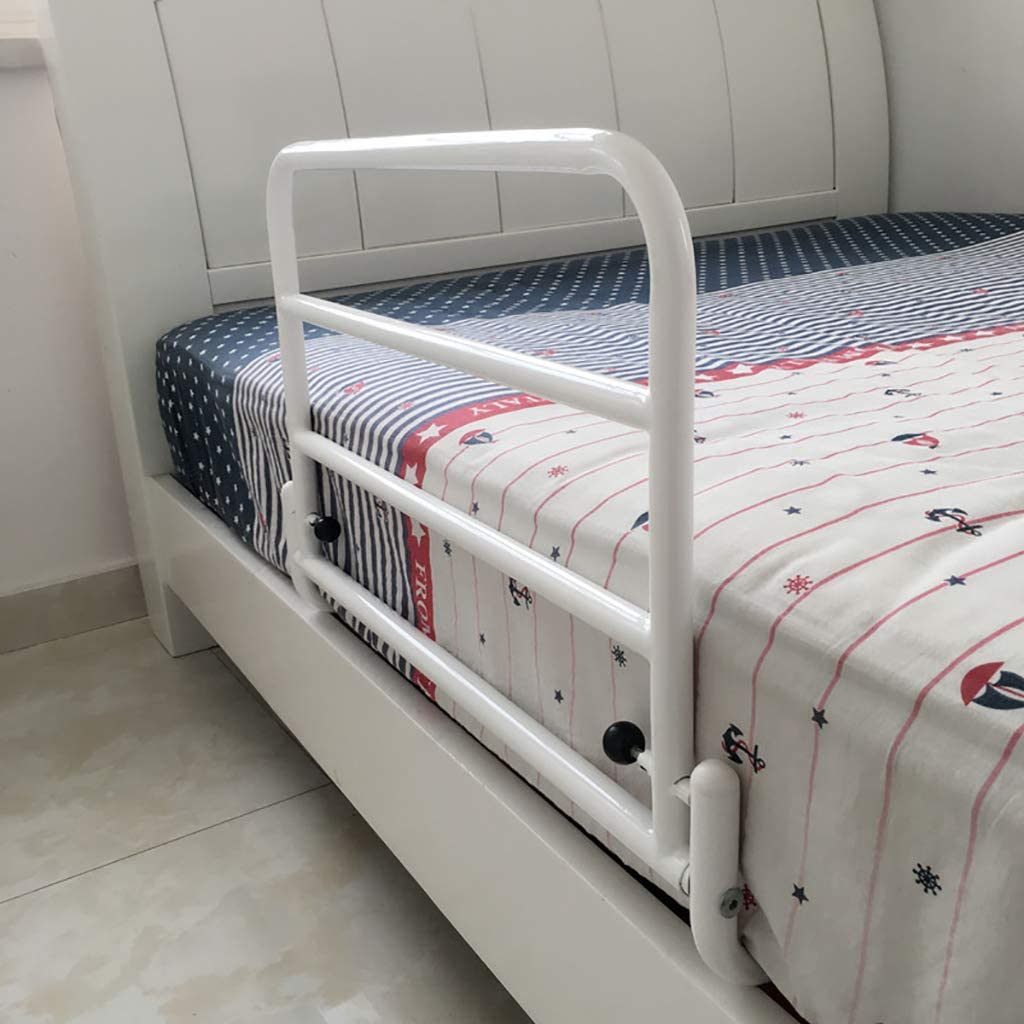 YF Cama de Seguridad Guardia del Carril Lateral for los Adultos Mayores manija Auxiliar Handicap Cama del Hospital Barandilla de tuber/ía de Acero de Pintura Agarre Barra de Parachoques