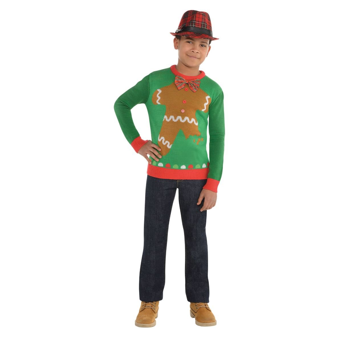 Amscan Ugly Gingerbread Christmas Sweater