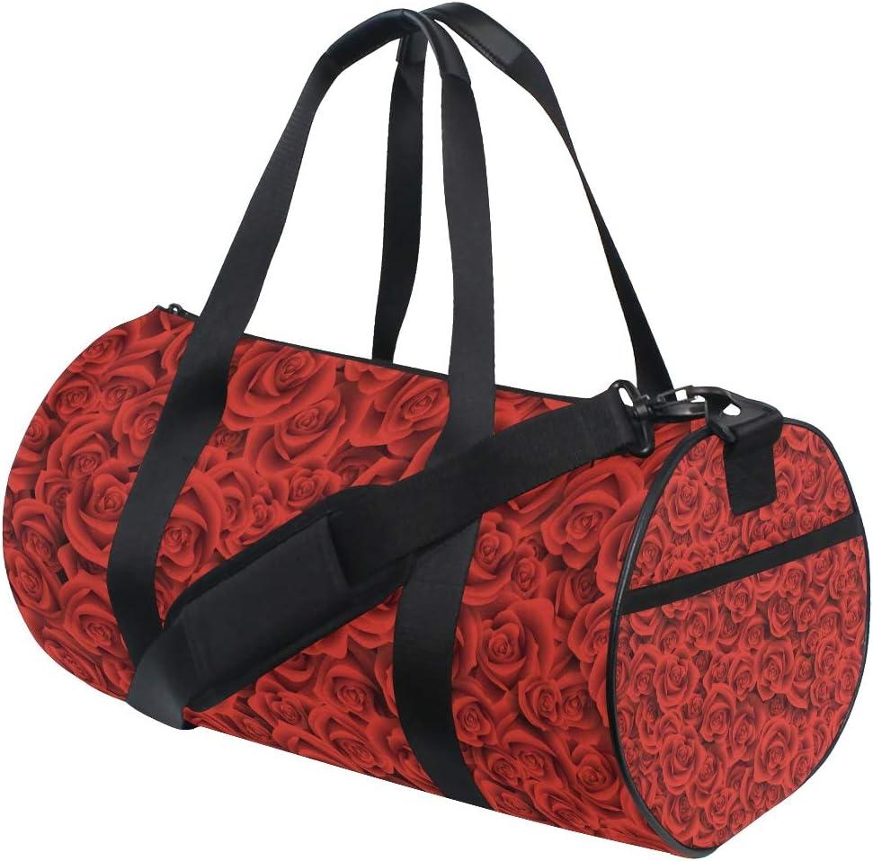 LUPINZ - Bolsa para Raqueta de Tenis de Mesa, diseño de Rosas Rojas