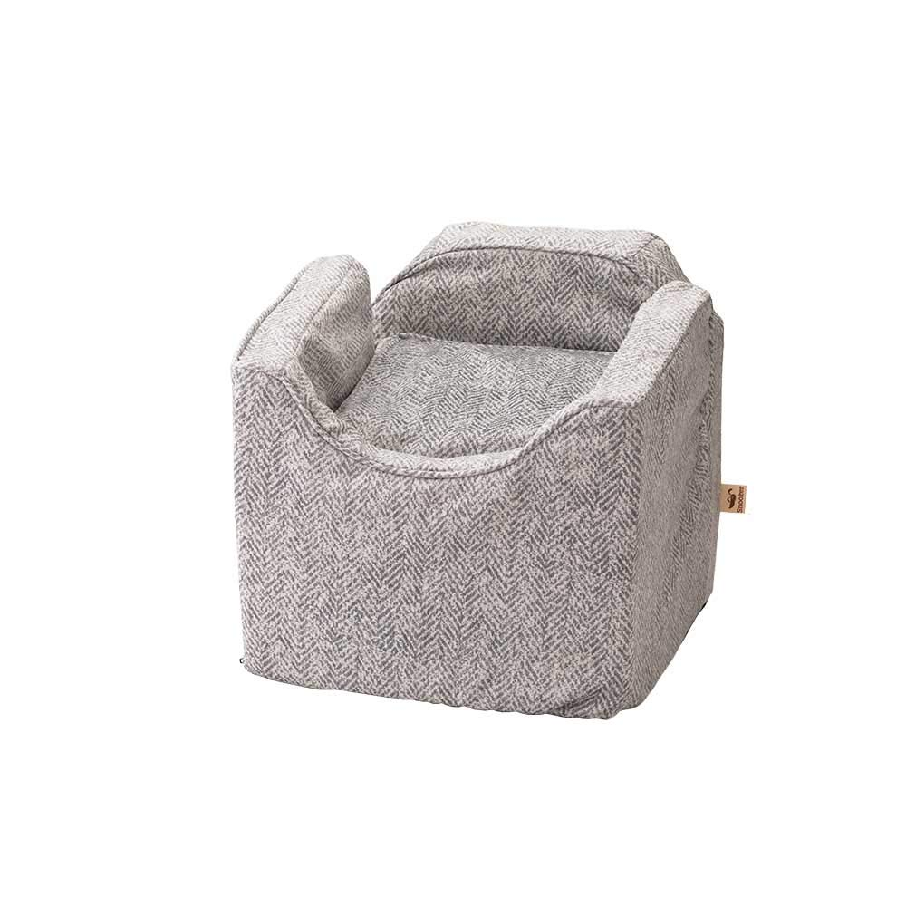 Snoozer Pet Products - Luxury Lookout I Dog Car Seat - Show Dog Collection | Medium - Palmer Dove by Snoozer