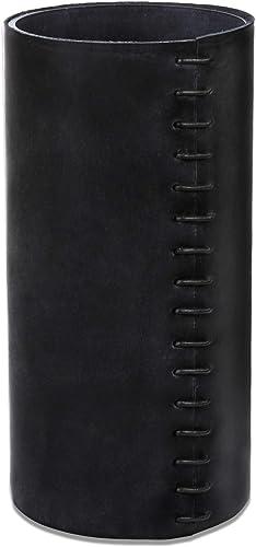 Glimpse Hollow Leather Vase