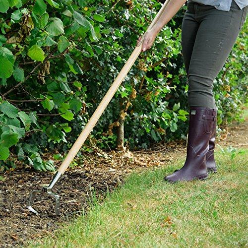Garden Tool Stirrup Kent /& Stowe Stainless Steel Long Handle Oscillating Hoe