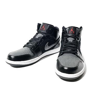 air jordans men shoes red and black hi tops