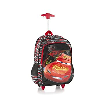Amazon.com: Heys Disney Rolling Backpacks Kids Multicolored School ...