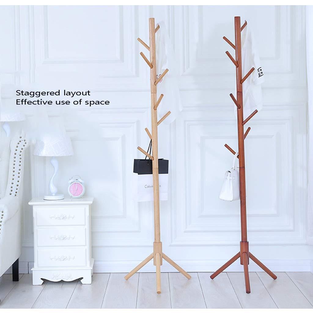 Amazon.com: Perchero de madera maciza con forma de triángulo ...