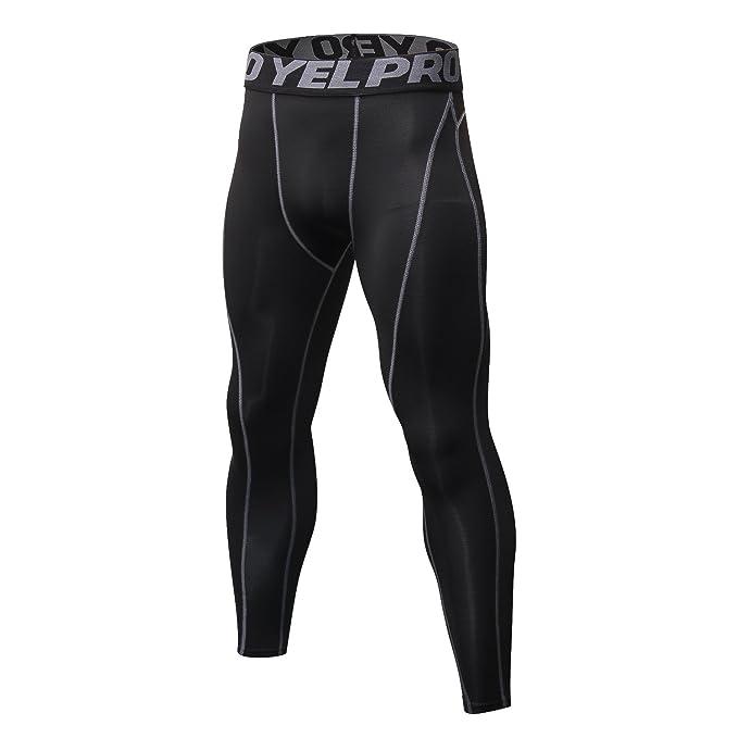 d49faf72af4520 Malavita Men's 2 Pack Compression Pants Sports Tights Leggings Base Layers  Workout Running Tights Leggings (