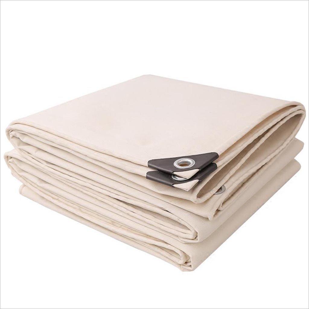 Plane JIU Verdicken Sie weißen Segeltuchsonnenschutzzelt-Gewebetuch Wasserdichtes UV 0.7 Millimeter Sehr praktisch (größe   2X 2m)