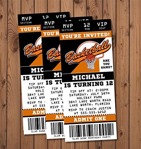 Compare Price: Ticket Invitations