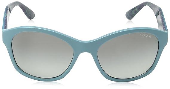 Vogue Unisex Sonnenbrille VO2991S 235111, Grün (Green 235111), One size (Herstellergröße: 56)