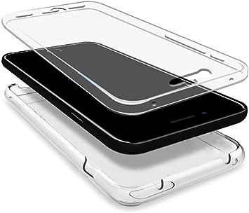 Tumundosmartphone Funda Gel TPU Completa Transparente Full Body ...