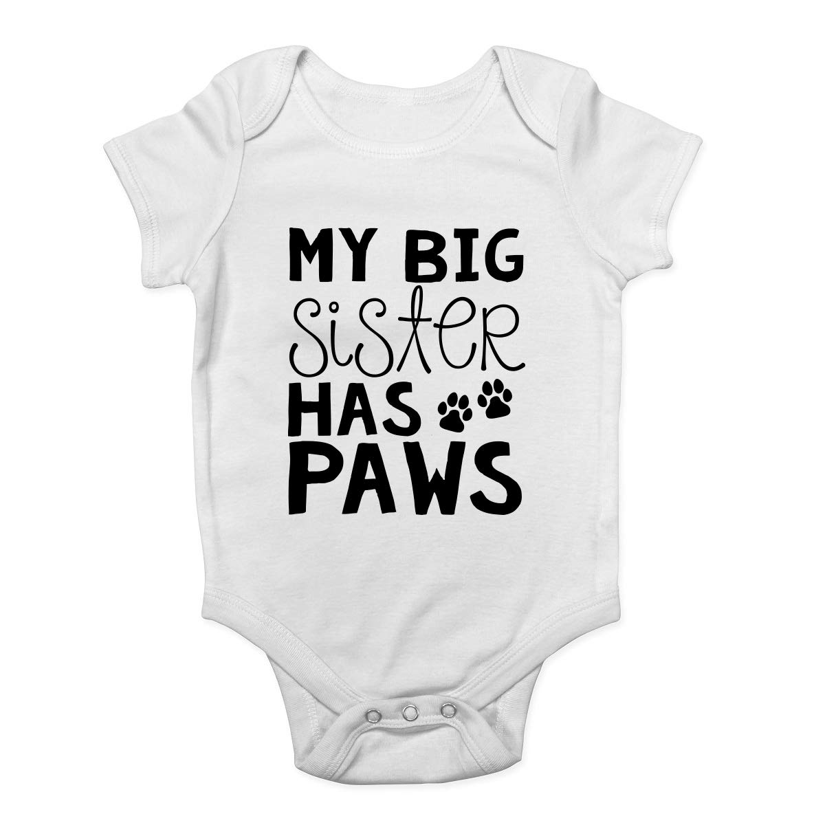 I LOVE MY BIG BROTHER THIS MUCH Funny Girls BabyGrow Bodysuit Vest Baby Clothes