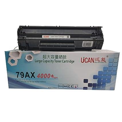 UCAN 79a 279a CF279a Cartucho de tóner Compatible con HP Laserjet ...