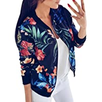 Abrigo de otoño, Dragon868 otoño 2019 Ropa Mujeres de Manga Larga Tops Chaqueta de Cremallera Outwear Tops Sueltos…