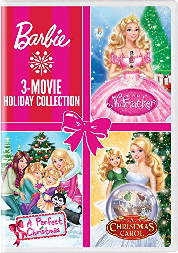 Barbie: 3-Movie Holiday Collection (Barbie: A Perfect Christmas / Barbie in a Christmas Carol / Barbie in the Nutcracker) (Barbie A Christmas Carol)
