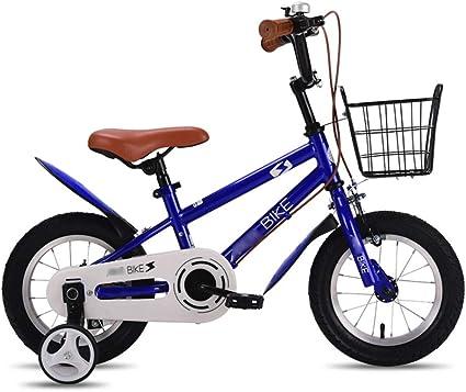 LJJL 2-4-6-8 Años De Edad, Niño, Niña, Pedal, Bicicleta, con, Cesta, Niños, Bicicleta, Niños, Bicicleta, 12/14/16/18 / 20inch Bicicletas Infantiles: Amazon.es: Deportes y aire libre