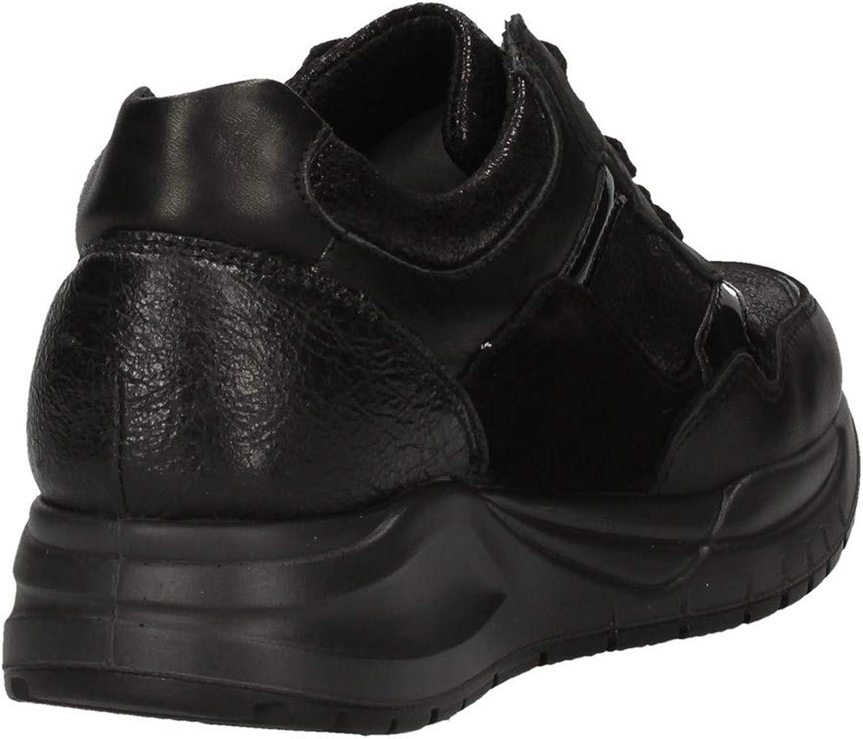 IMAC 409000 Baskets Femme Noir