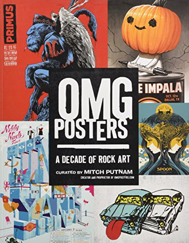 OMG Posters: A Decade of Rock Art - Arctic White Cover