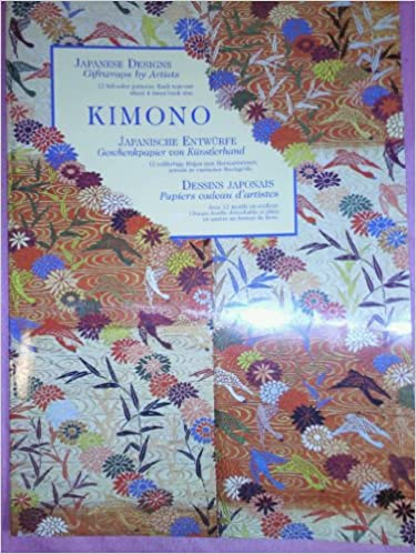 Kimono: Japanese Design: Gift Wrap: Raven: 9783829038973: Amazon com