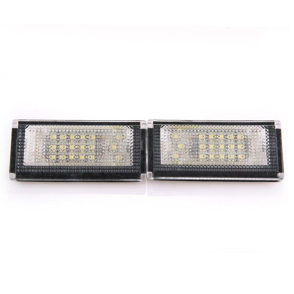 CroLED R033 Coppia Luci Targa LED Bianco Compreshow