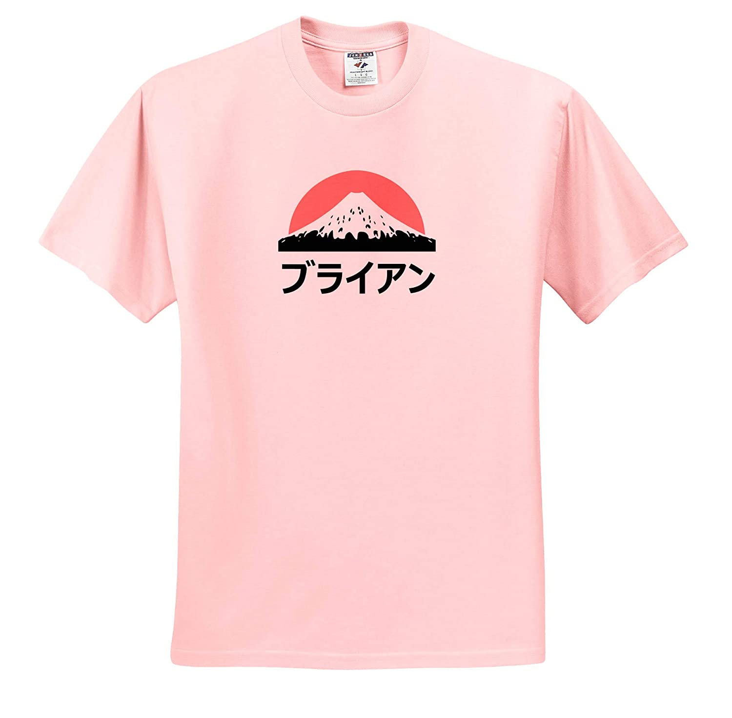 Brian in Japanese Letters 3dRose InspirationzStore Name in Japanese Adult T-Shirt XL ts/_320444