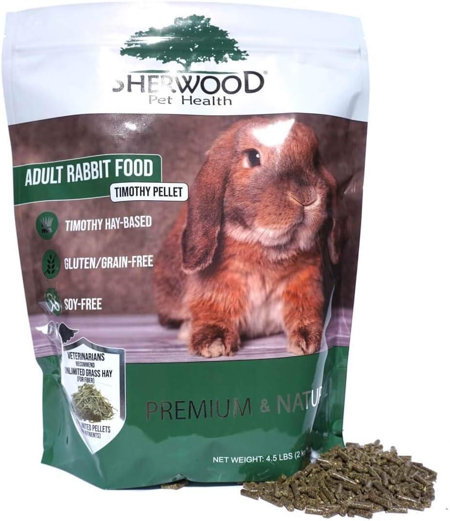 Sherwood Pet Health Adult Rabbit Food Timothy Pellet