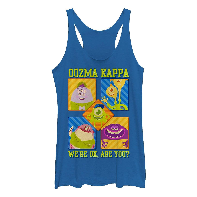 b55034cf71240 Amazon.com  Monsters Inc Women s Oozma Kappa We re Ok Racerback Tank Top   Clothing