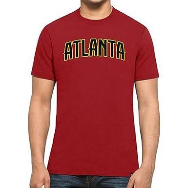 Camiseta 47 Brand – Nba Atlanta Hawks Mvp Splitter rojo talla: S (Small)
